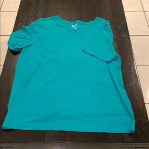 XL Arizona Jeans Short Sleeve V-Neck T-Shirt